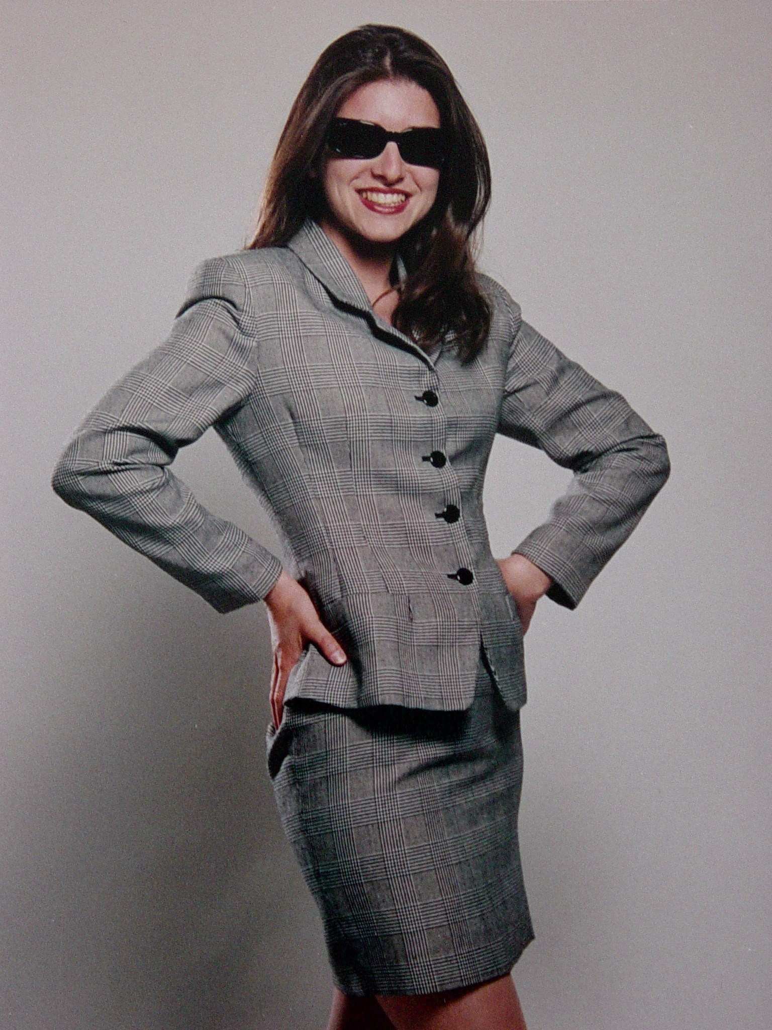 Photo of Catherine taormina suit sunglasses