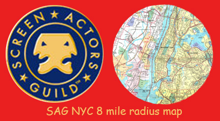 Click Here For The SAG (Screen Actor's Guild) NYC 8 Mile Radius Map